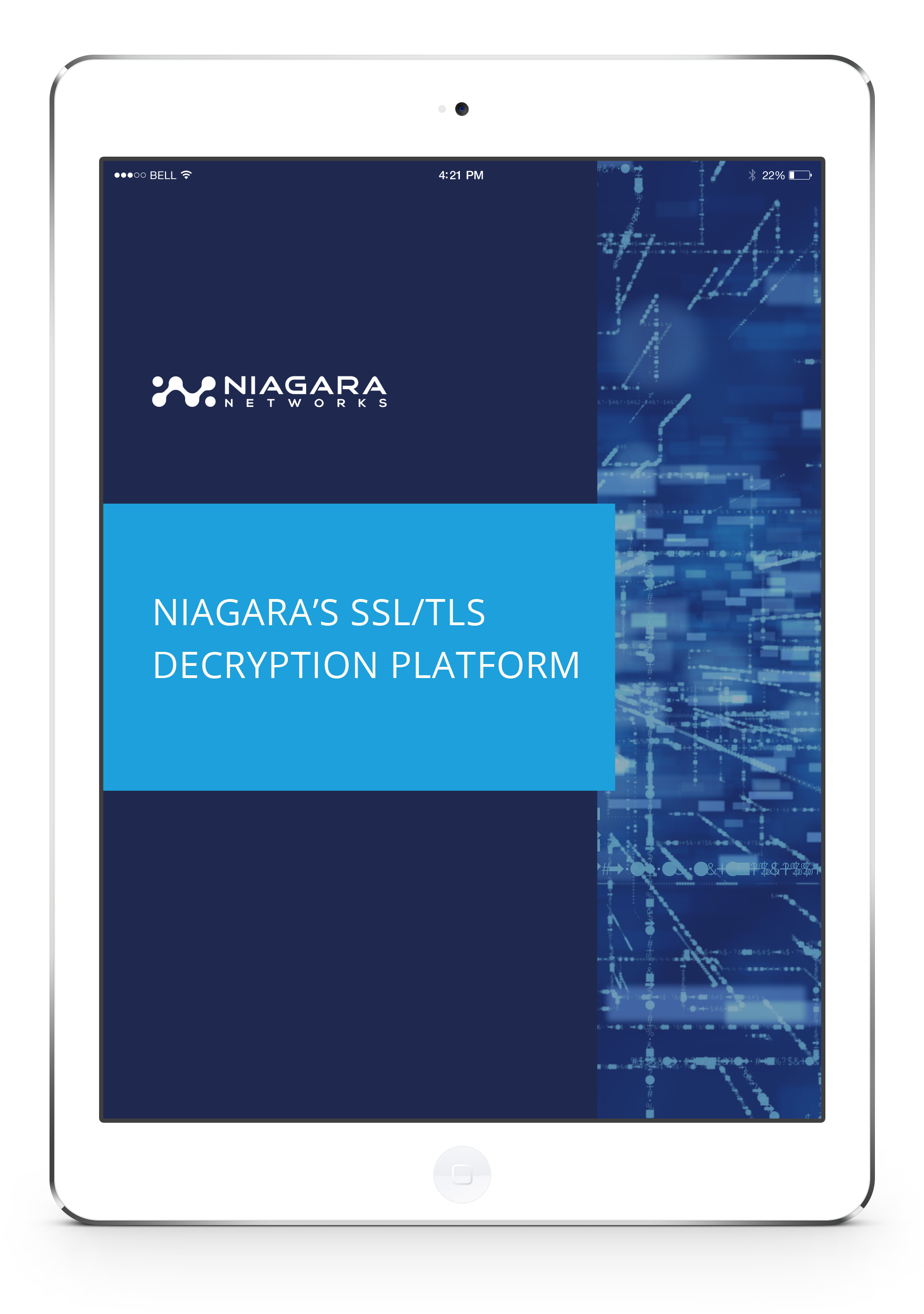 Niagara's SSL/TLS Decryption Platform - LP image