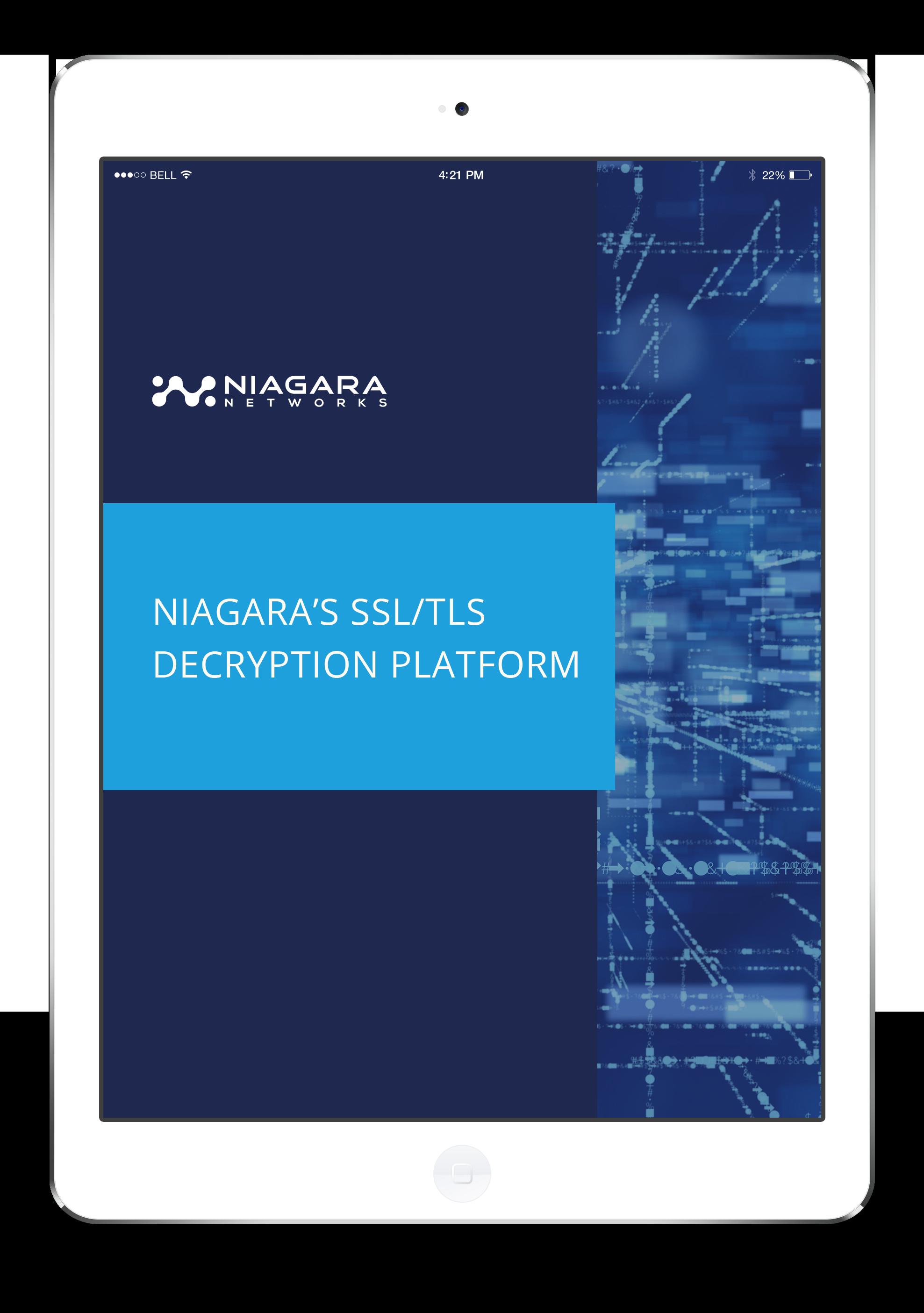 Niagara's SSLTLS Decryption Platform - LP image-1